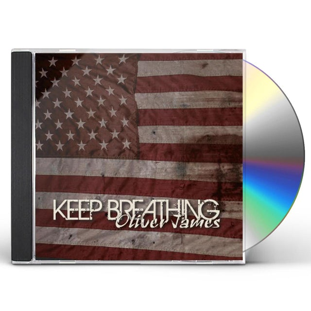 Oliver James KEEP BREATHING CD