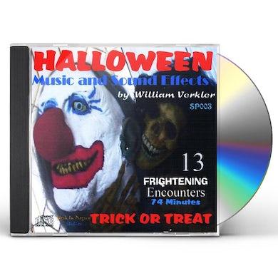 William Verkler HALLOWEENMUSIC & SOUND EFFECTS SP003 CD