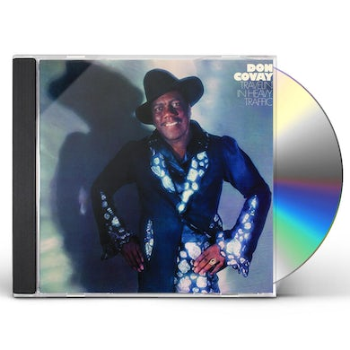 Don Covay TRAVELIN IN HEAVY TRAFFIC CD