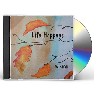 Windfall LIFE HAPPENS CD