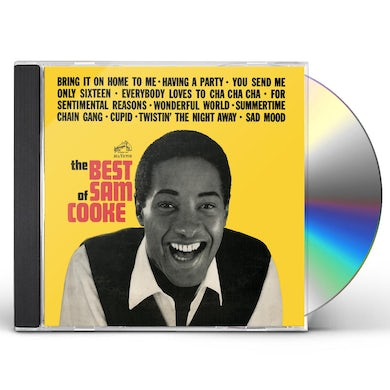 Sam Cooke BEST OF CD