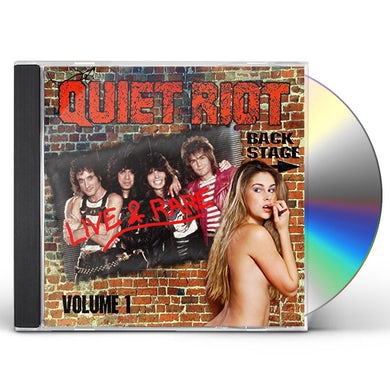 Quiet Riot LIVE & RARE 1 CD
