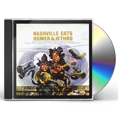 Homer & Jethro NASHVILLE CATS CD
