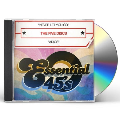 Five Discs NEVER LET YOU GO CD