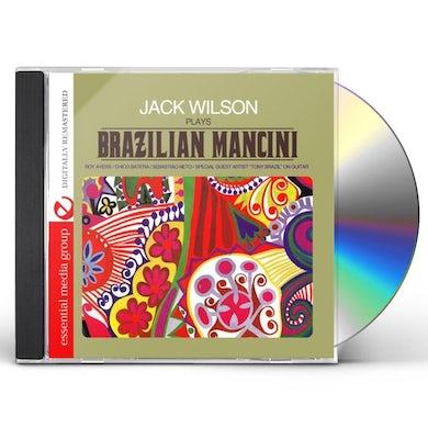 Jack Wilson PLAYS BRAZILIAN MANCINI CD