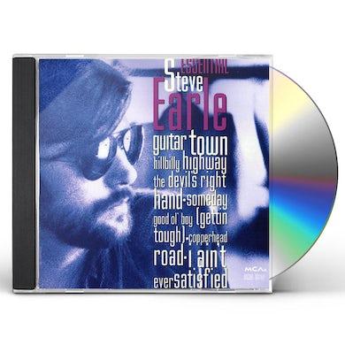 ESSENTIAL STEVE EARLE CD