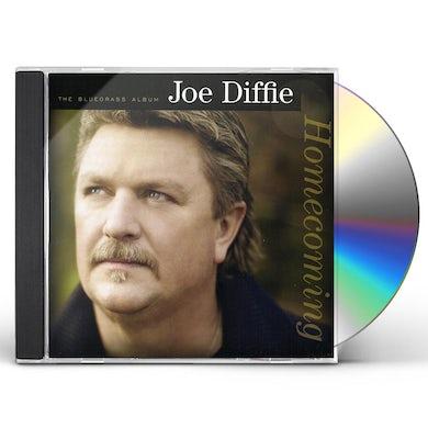 Joe Diffie HOMECOMING: THE BLUEGRASS ALBUM CD