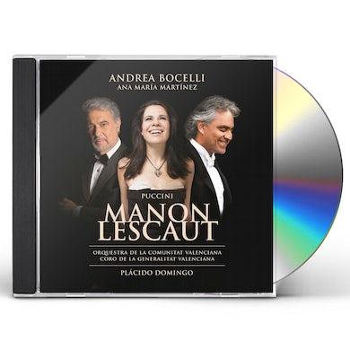 Andrea Bocelli PUCCINI: MANON LESCAUT CD