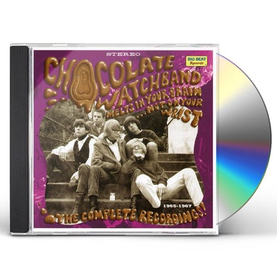 The Chocolate Watchband MELTS IN YOUR BRAIN NOT ON YOUR WRIST CD