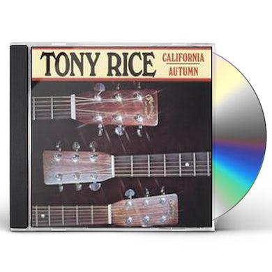 Tony Rice CALIFORNIA AUTUMN CD