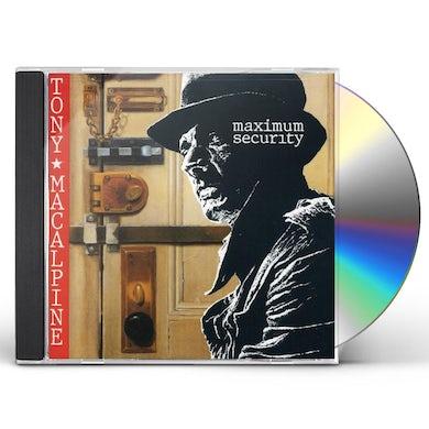 Tony MacAlpine MAXIMUM SECURITY CD