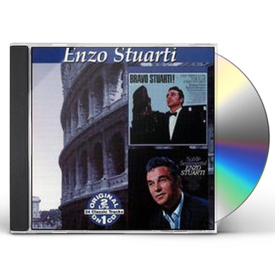 Enzo Stuarti BRAVO STUARTI / SOFT & SENTIMENTAL CD