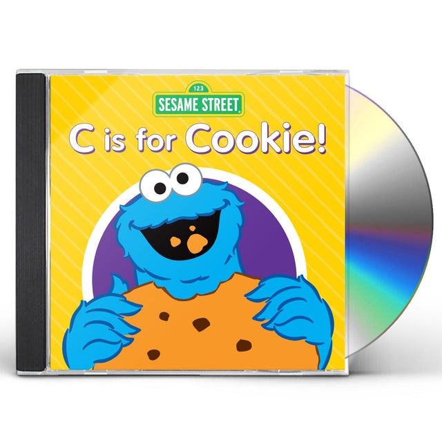 Sesame Street C IS FOR COOKIE CD