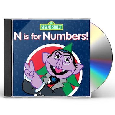 Sesame Street N IS FOR NUMBERS CD
