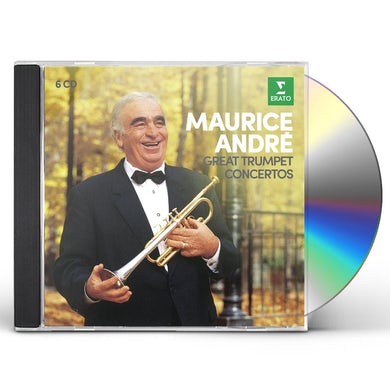 Maurice Andre GREAT TRUMPET CONCERTOS CD