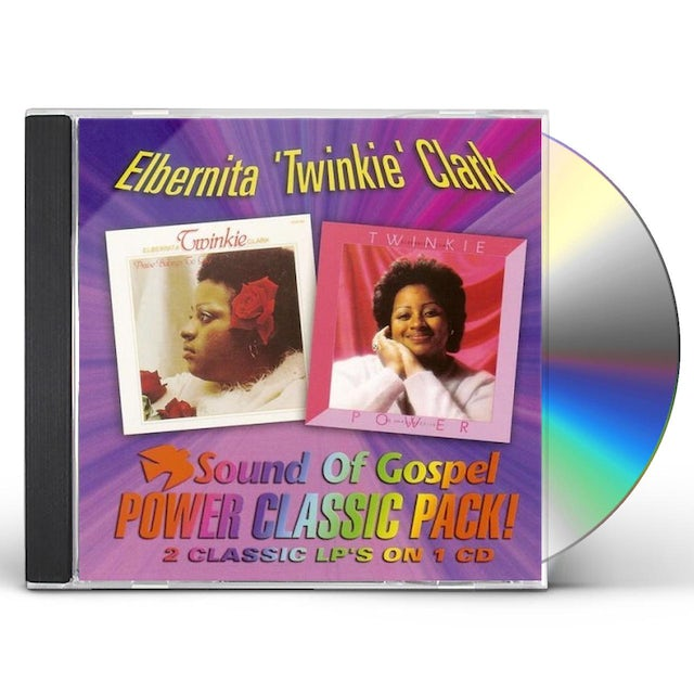 Twinkie Clark PRAISE BELONGS TO GOD: YE SHALL RECEIVE POWER CD
