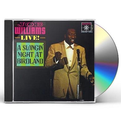 Joe Williams SWINGIN NIGHT AT BIRDLAND CD