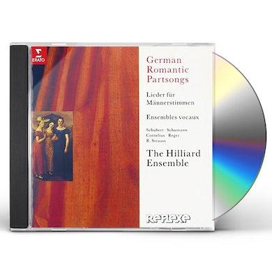 Hilliard Ensemble GERMAN ROMANTIC PARTSONGS CD