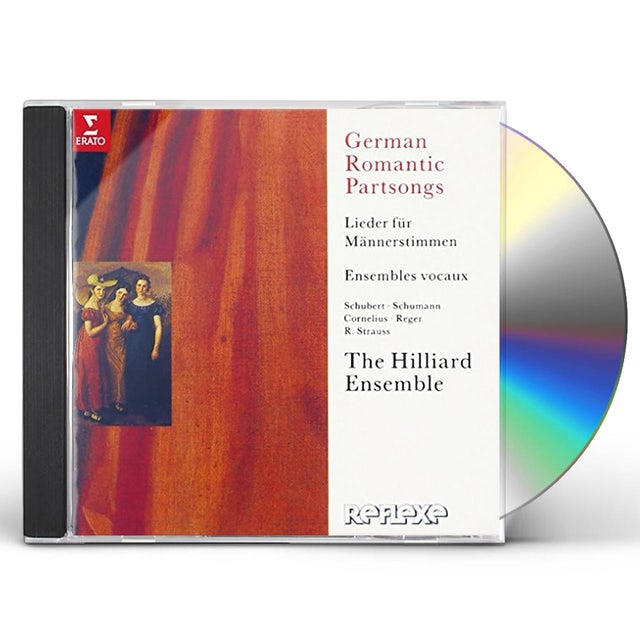 Hilliard Ensemble GERMAN ROMANTIC PARTSONGS CD