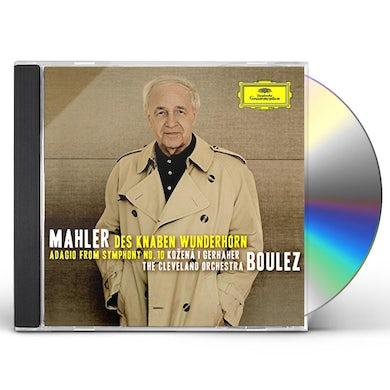 Gustav Mahler: DES KNABEN WUNDERHORN / ADAGIO FROM SYM 10 CD