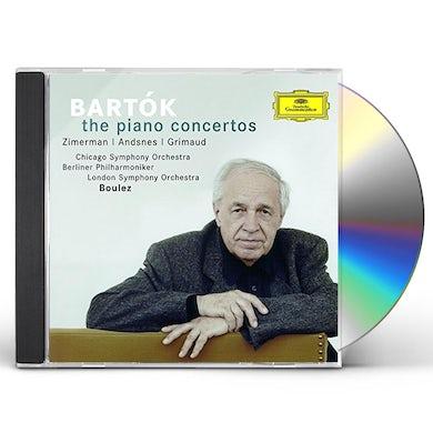 BARTOK: PIANO CONCERTOS CD