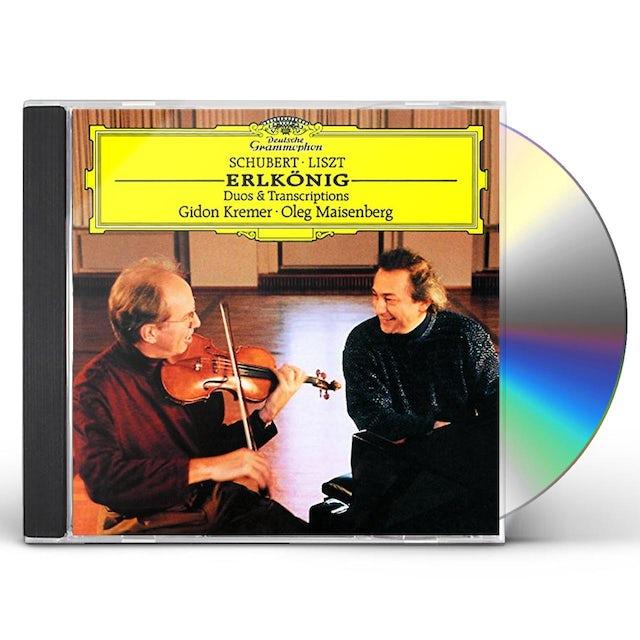Gidon Kremer SCHUBERT / LISZT: ERLKONIG DUOS & TRIOS CD