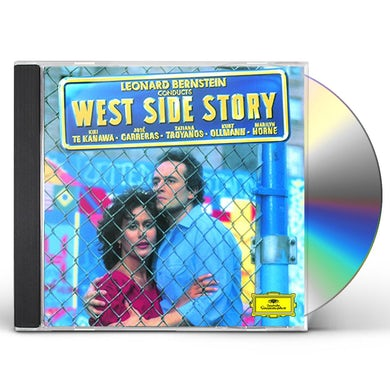 Leonard Bernstein BERNSTEIN: WEST SIDE STORY CD