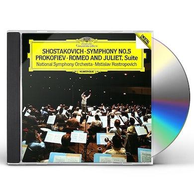 SHOSTAKOVICH: SYMPHONY NO.5. ETC. CD