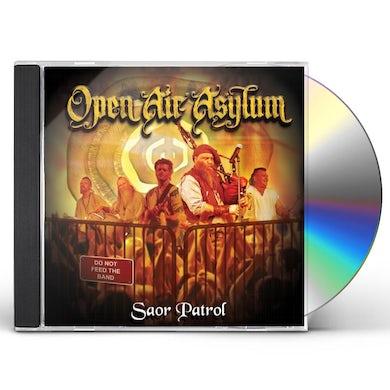 SAOR PATROL OPEN AIR ASYLUM CD