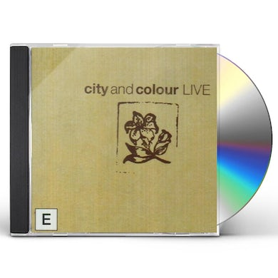 City and Colour CD