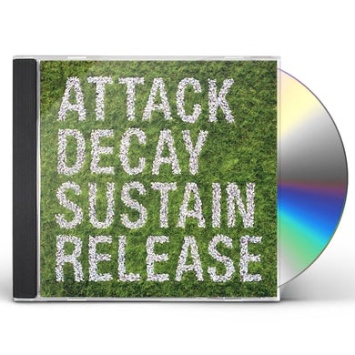 Simian Mobile Disco ATTACK DECAY SUSTAIN RELEASE CD