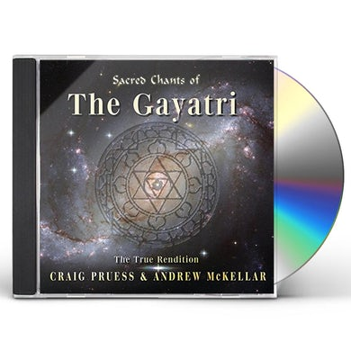 Craig Pruess SACRED CHANTS OF THE GAYATRI CD