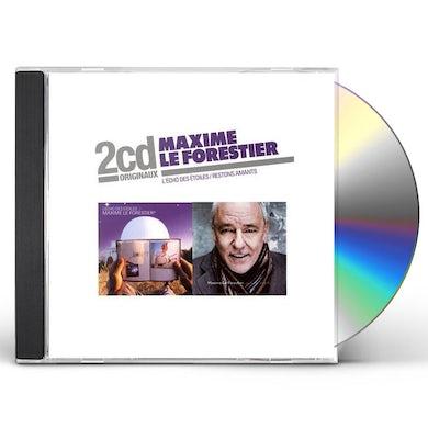 Maxime Le Forestier L'ECHO DES ETOILES + RESTONS AMANTS CD