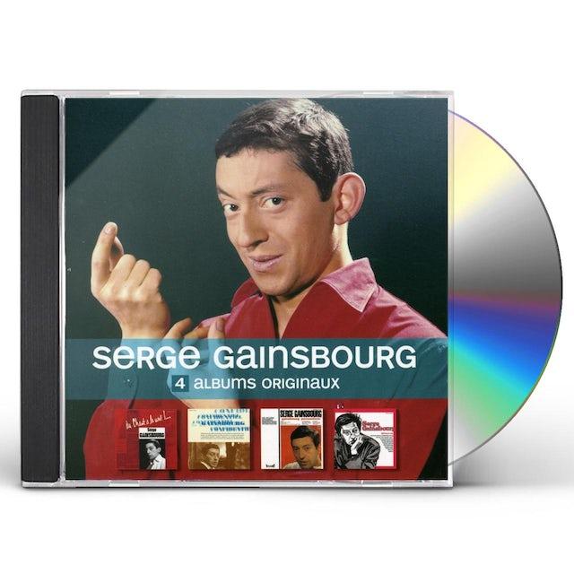 Serge Gainsbourg 4 ORIGINAL ALBUMS CD