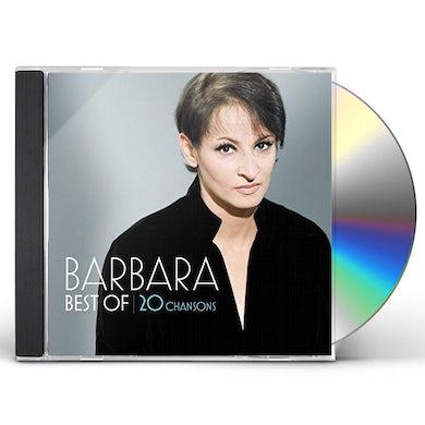 BARBARA BEST OF 20 CHANSONS CD