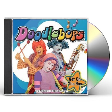 Doodlebops GET ON THE BUS CD