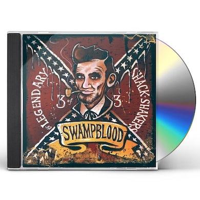 Legendary Shack Shakers SWAMPBLOOD CD