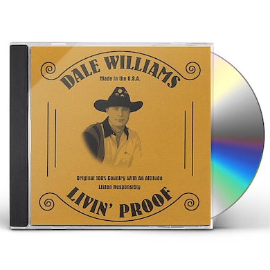 Dale Williams LIVIN' PROOF CD