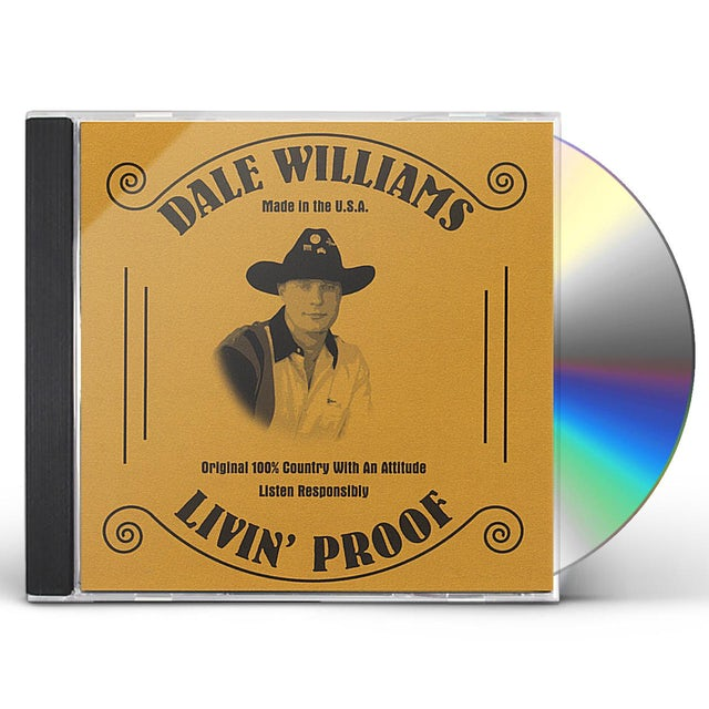 Dale Williams LIVIN' PROOF CD