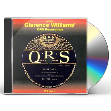 Clarence Williams QRS RECORDINGS 2 CD