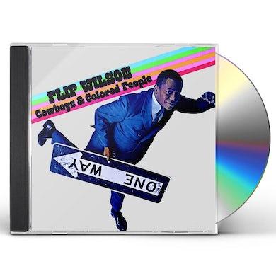 Flip Wilson COWBOYS & COLORED PEOPLE (2017 REISSUE) CD