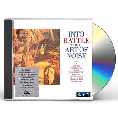 INTO BATTLE WITH THE ART OF NOISE CD