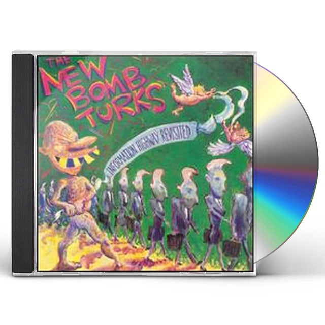 New Bomb Turks INFORMATION HIGHWAY REVISITED CD