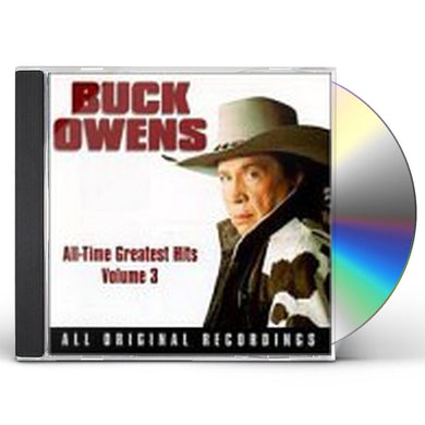 Buck Owens GREATEST HITS 3 CD