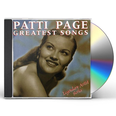Patti Page GREATEST SONGS CD