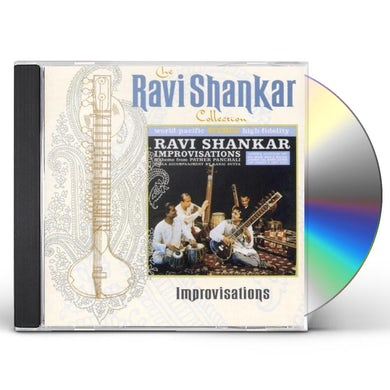 Ravi Shankar IMPROVISATIONS CD