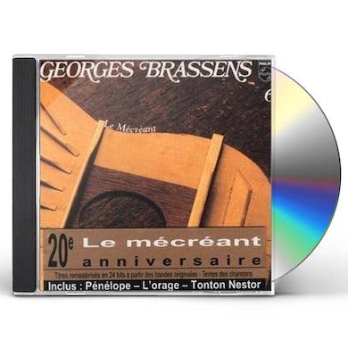Georges Brassens LE MECREANT (VOL6) CD