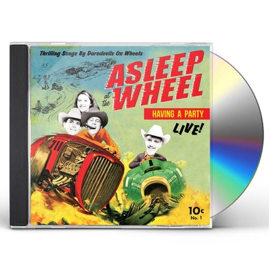 Asleep At The Wheel HAVIN' A PARTY LIVE CD