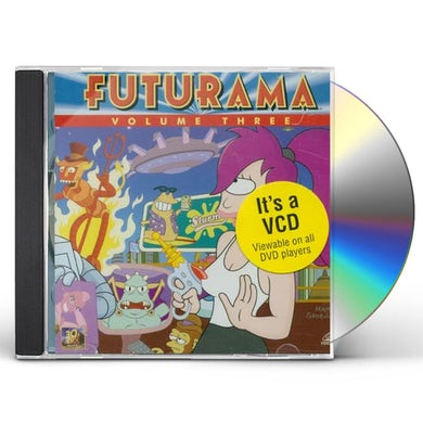 FUTURAMA: VOL. 3-EPISODES 1-4 CD