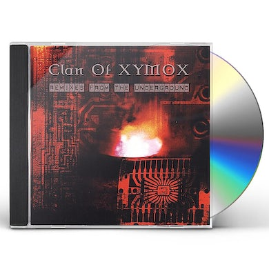 Clan Of Xymox REMIXES FROM THE UNDERGROUND CD